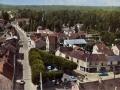 Lamorlaye - Place du Trio - Vue aérienne