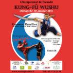 Affiche du championnat de Kung-Fu de Picardie 2011