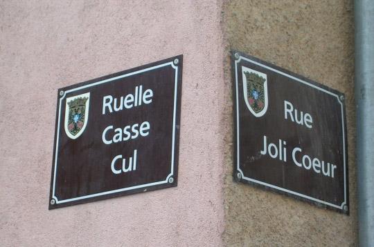 Le nom des rues