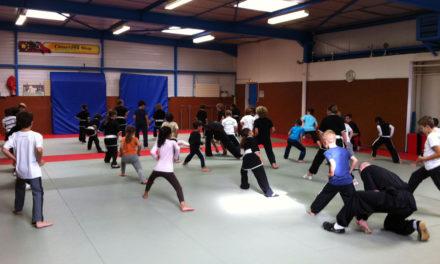 Une rentrée très spéciale pour l'école de Kung-Fu de Lamorlaye