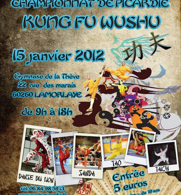 Championnat de Picardie de Kung Fu Wushu à Lamorlaye