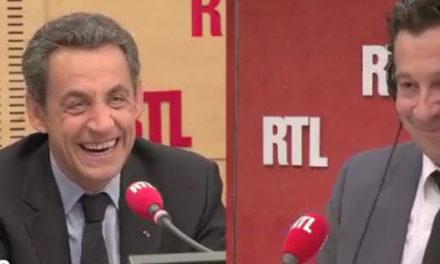 Le mendiant du second tour (E. Macias) – Laurent Gerra et Nicolas Sarkozy