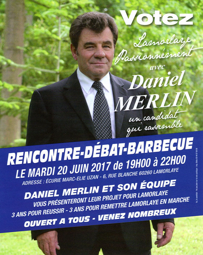 Daniel Merlin - Invitation barbecue