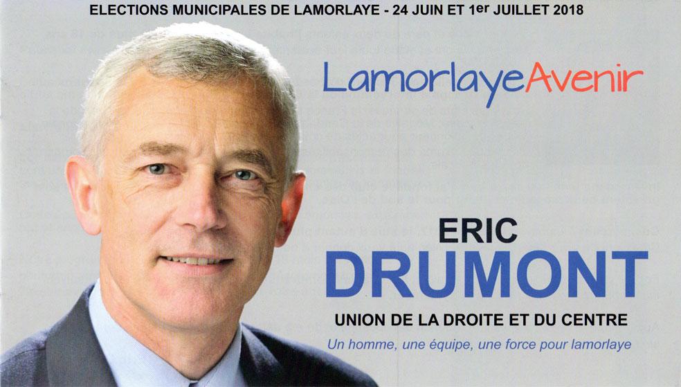 Lamorlaye Avenir avec Eric DRUMONT