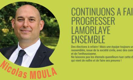 Le Bon Sens pour Lamorlaye avec Nicolas MOULA