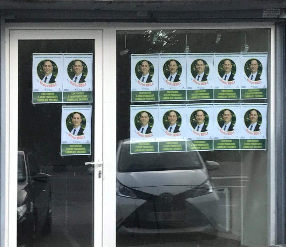 QG de campagne de Nicolas Moula