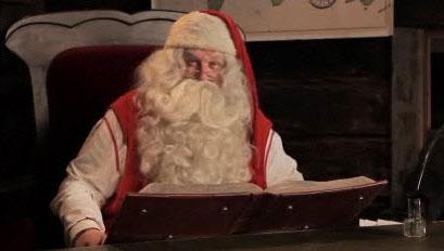 Message du Père Noël pour Didier