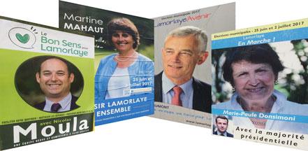 Lamorlaye : Quatre listes au second tour des municipales 2017