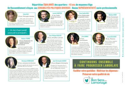 Le Bon Sens pour Lamorlaye - Liste 2018