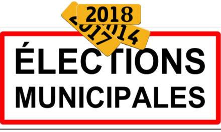 Qui sont les candidats à l'élection municipale 2018 ?