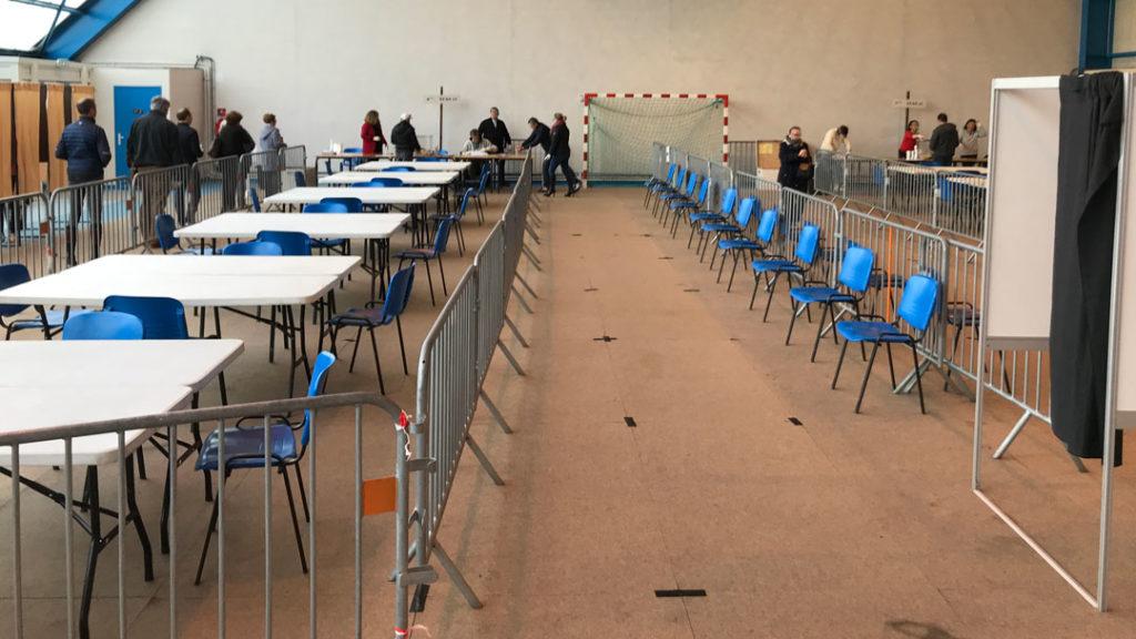 Bureaux de vote à Lamorlaye